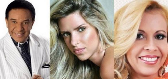 Agnaldo, Thabata e Joelma - Foto/Reprodução