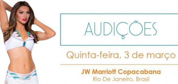 Audições acontecem no Rio de Janeiro