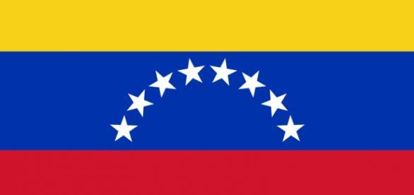Bandera del país latinoamericano Venezuela
