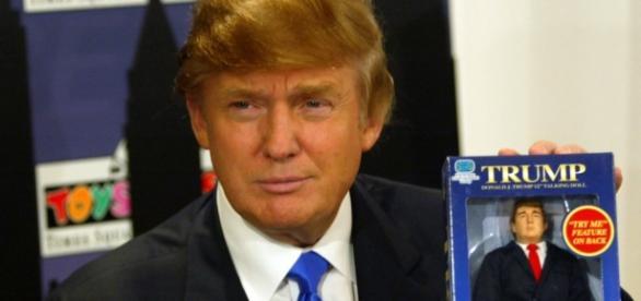 Donald Trump avversario di Clinton