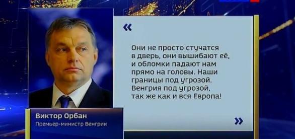 Wiktor Orban stał się bohaterem całej Rosji.