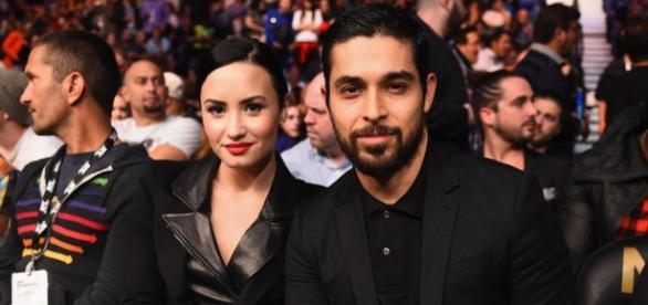 Demi Lovato e Wilmer Valderrama   Foto: divulgação