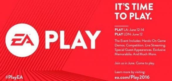 Imagen presentación evento EA Play