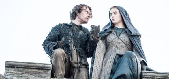 Sansa e Theon pulam o muro e morte é mistério