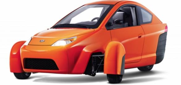 The Elio, the 84 mpg, $6,800 vehicle.