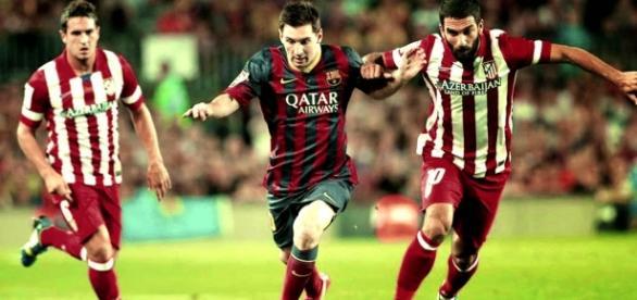 Barça e Atlético disputam a liderança da Liga BBVA