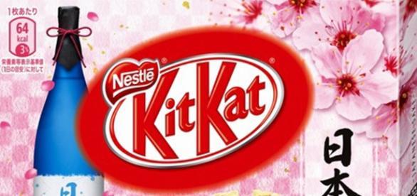 Caja de Kit Kat de Amor japonesa