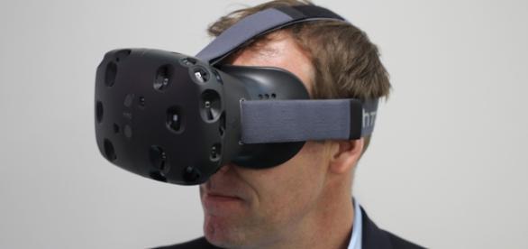 Gafas de realidad virtual HTC Vibe. Wikipedia