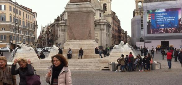 La fontana è di nuovo vissuta da romani e turisti