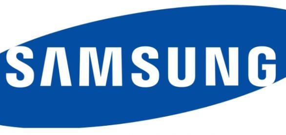 Logo de la marca de móviles Samsung
