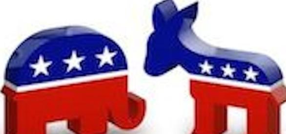 Repubblicani versus Democratici.
