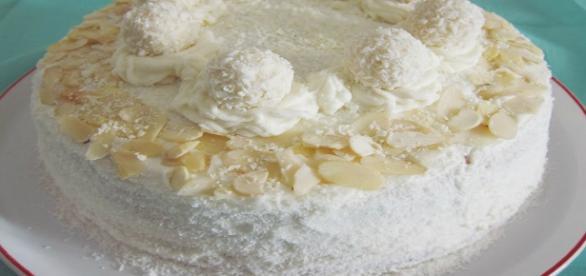 Ricetta della torta Raffaello!