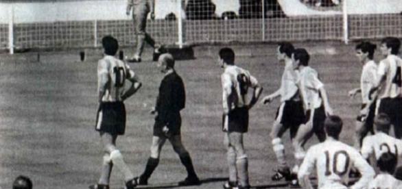 Bei der WM 1966 fiel das legendäre Wembley Tor