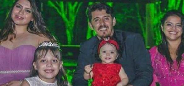 Família inteira foi vítima do acidente na BR-116