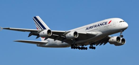 Fotografía de archivo de un Air France