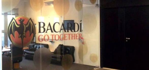 Uma das salas de reuniões da Barcadi
