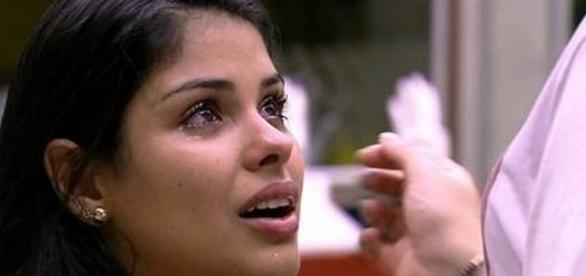 Munik chora por Renan (Reprodução/Globo)