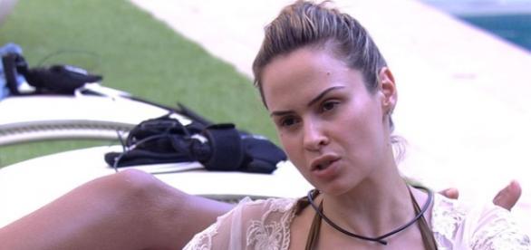 Ana Paula no BBB - Foto/Reprodução: Globo