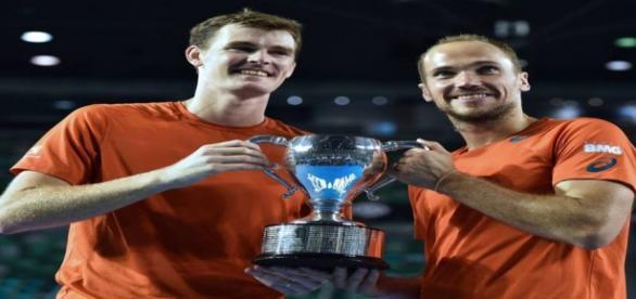 Bruno, à direita, venceu o Australian Open de 2016