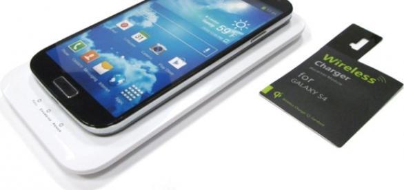 Carga inalámbrica en un teléfono Android