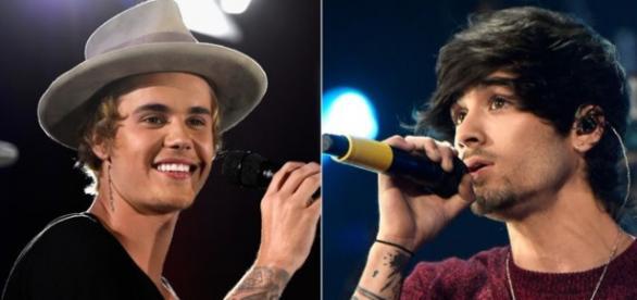 Os dois cantores podem fazer uma parceria