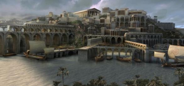 Atlântida foi um paraíso descrito por Platão