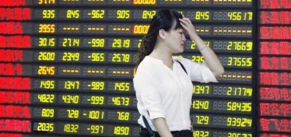bolsas chinesas caem mais de 7%