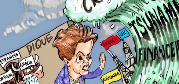 Brasil tem a pior crise financeira e política.