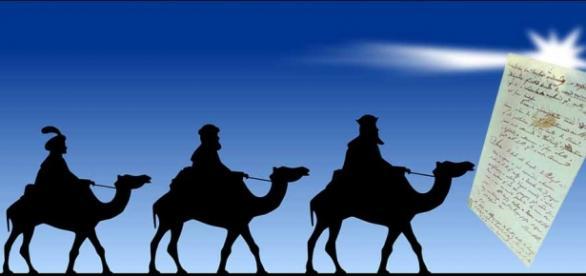 Carta a los Reyes Magos parte 1