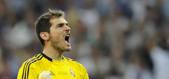 Casillas quando ainda atuava pelo Real