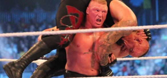 Brock Lesnar at the Rumble? (Wikipedia)