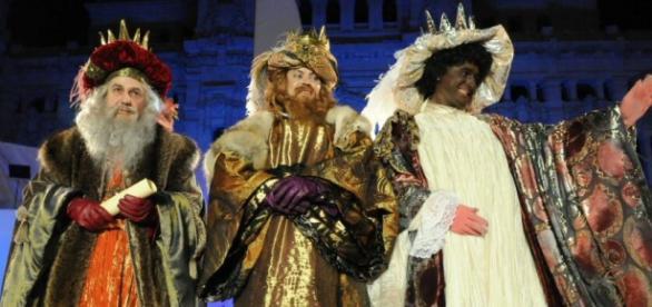 Cabalgata de los Reyes Magos en Madrid (2016)