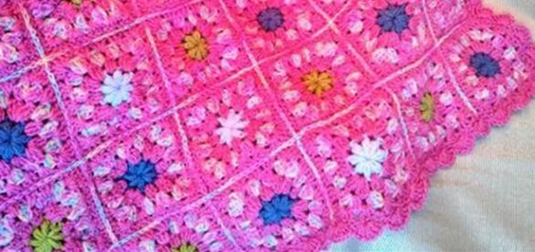 Cómo tejer a crochet una manta o cobija para bebé