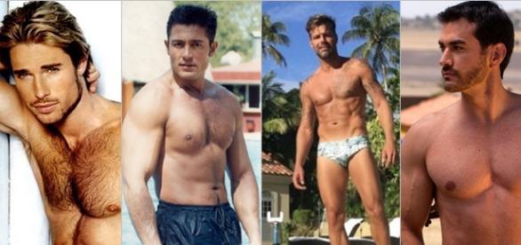 Fernando Colunga e Ricky Martin.