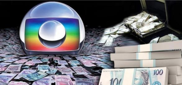 Globo e a queda na arrecadação - Imagem: Google