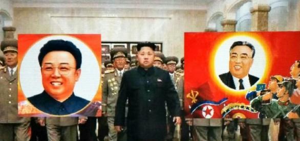 Kim Jong Un fra suo padre e suo nonno