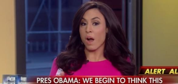 Andrea Tantaros questions Obama, via YouTube