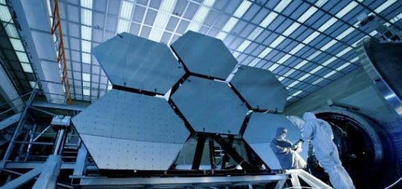 el gran telescopio JWST de la Nasa