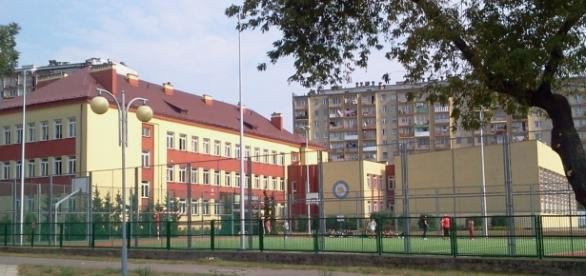 Gimnazjum w Ostrowcu Świętokrzyskim. Fot. K.Krzak