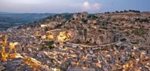 Uno scorcio di Scicli, città Unesco