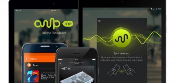 AmpMe sincroniza tus altavoces móviles