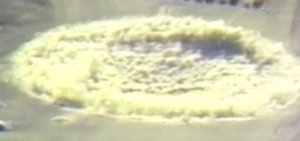 Captura de la explosión emitida por YTN News