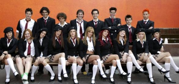 Foto promocional, Rebelde 2ª temporada