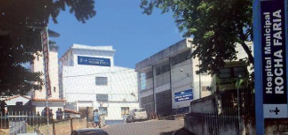 Hospital Rocha Faria (Foto: Prefeitura do Rio)