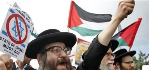 Judios ortodoxos en contra del sionismo.