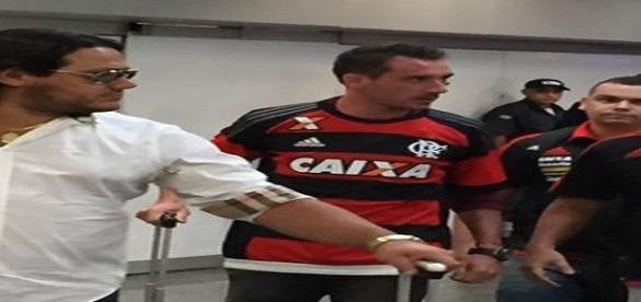 Atleta argentino já assinou com o Fla