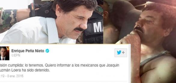 En Twitter el Presidente anuncio la captura