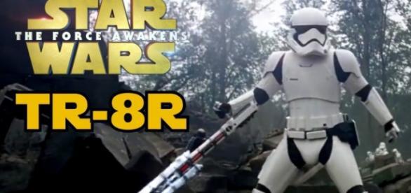 Identidade do Stormtrooper TR-8R