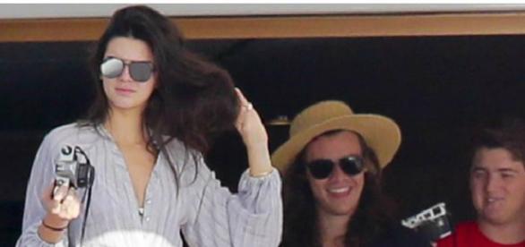 Kendall Jenner e Harry Styles em St. Barts
