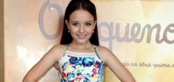 Larissa Manoela na estrela do Pequeno Príncipe